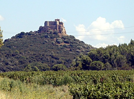Beauregard Cathar Castle near Narbonne